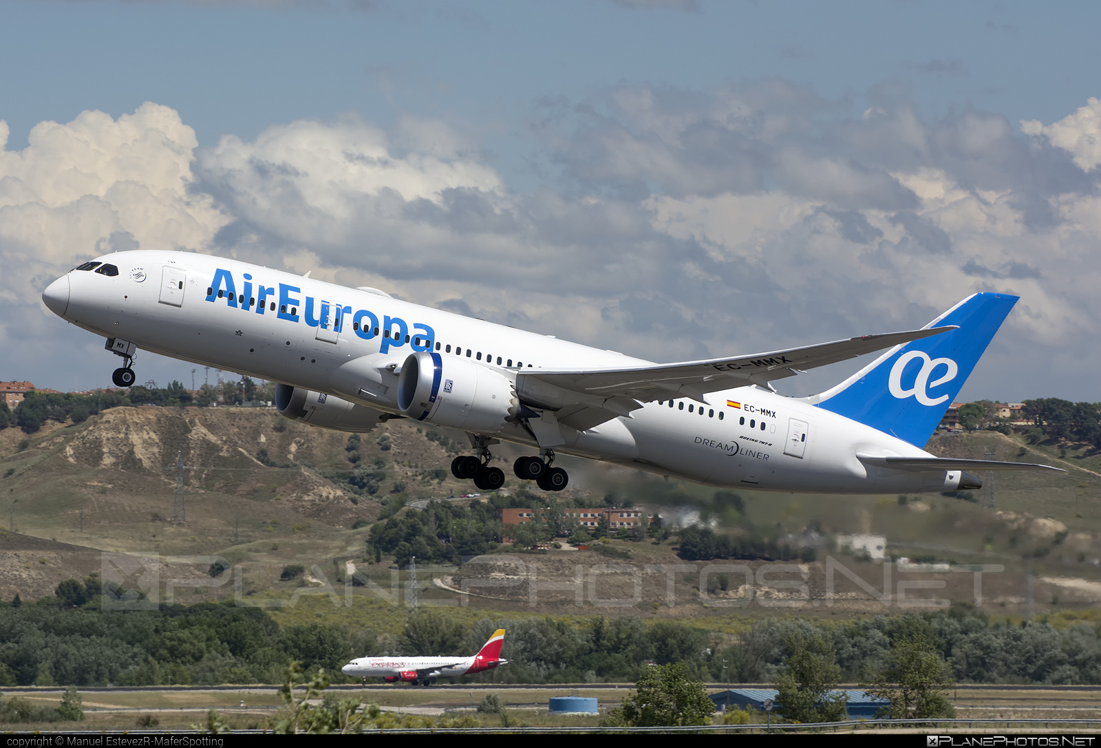 Boeing 787-8 Dreamliner - EC-MMX operated by Air Europa #b787 #boeing #boeing787 #dreamliner