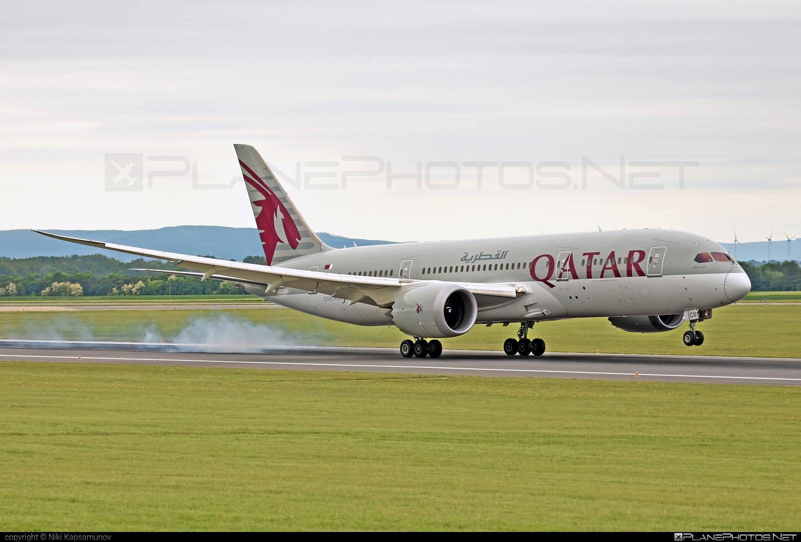 Boeing 787-8 Dreamliner - A7-BCB operated by Qatar Airways #b787 #boeing #boeing787 #dreamliner #qatarairways