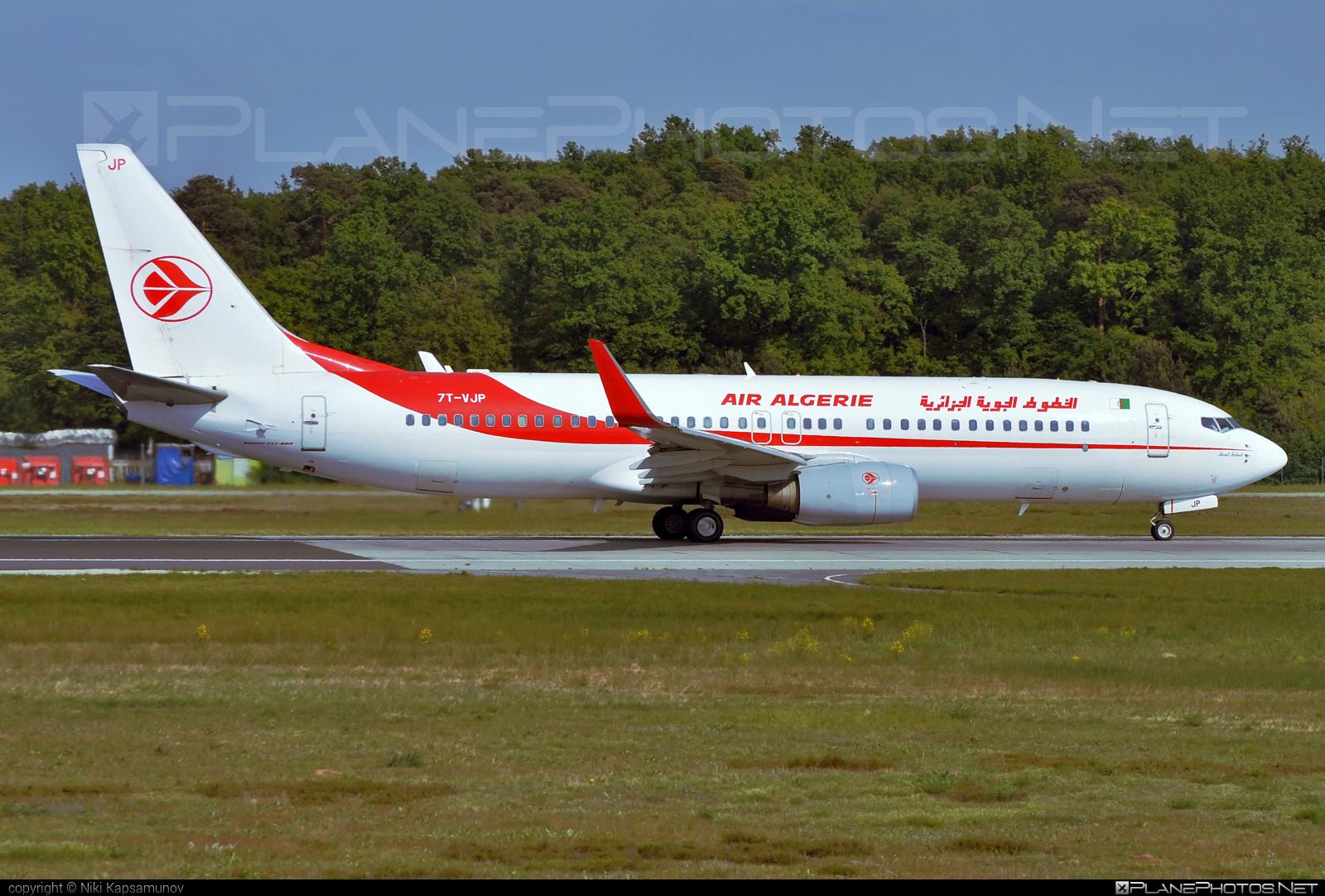 Boeing 737-800 - 7T-VJP operated by Air Algerie #b737 #b737nextgen #b737ng #boeing #boeing737