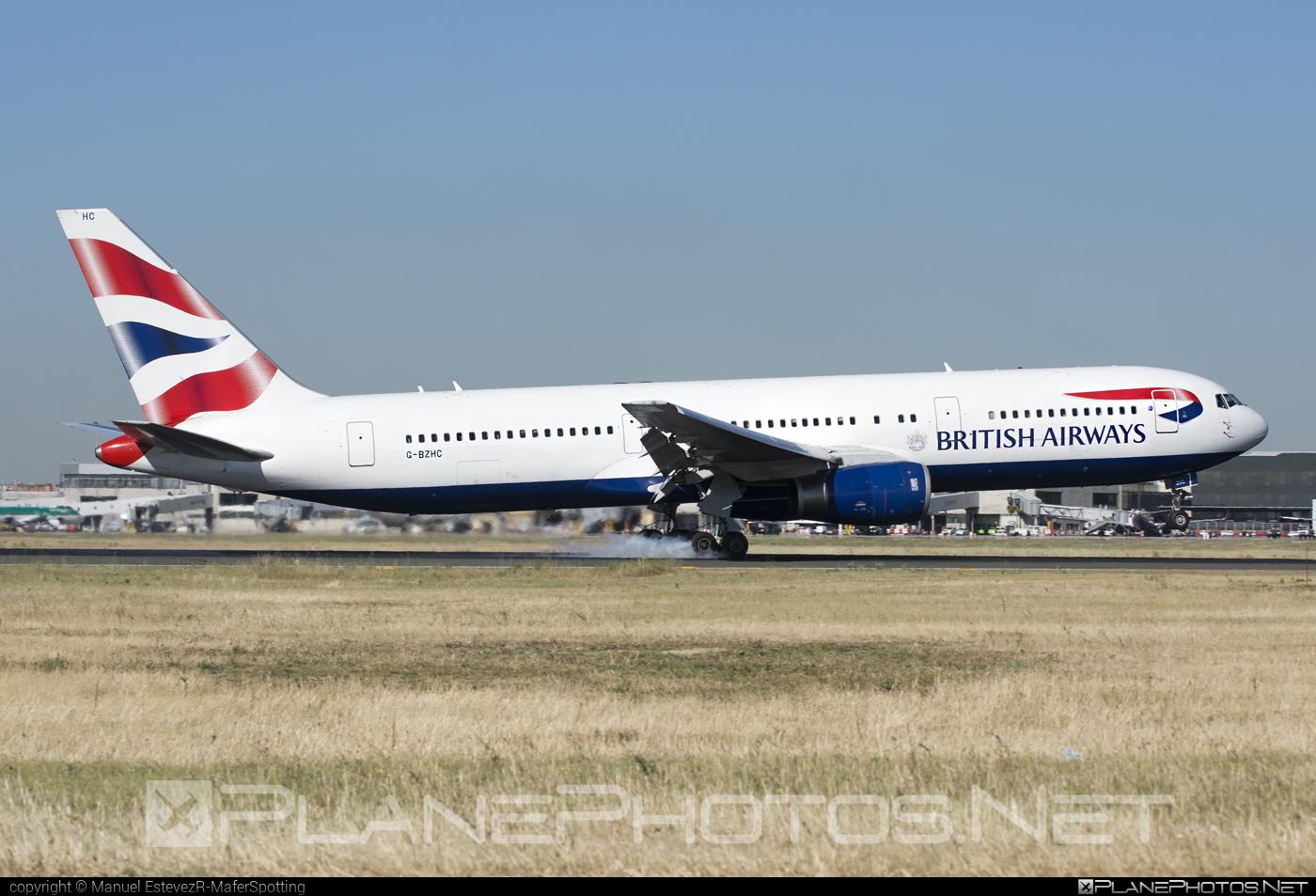 Boeing 767-300ER - G-BZHC operated by British Airways #b767 #b767er #boeing #boeing767 #britishairways