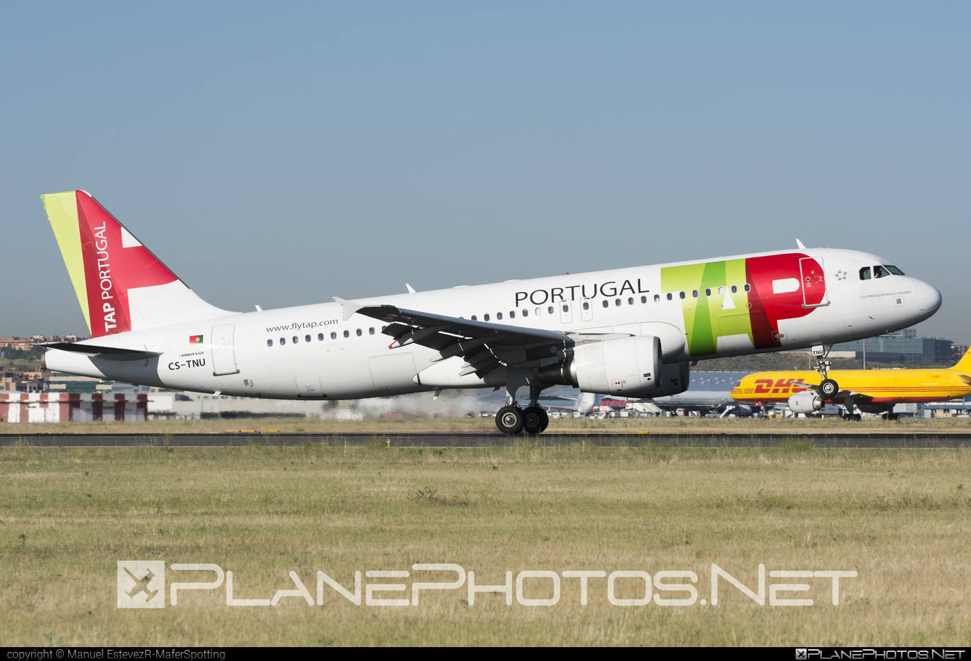 Airbus A320-214 - CS-TNU operated by TAP Portugal #a320 #a320family #airbus #airbus320