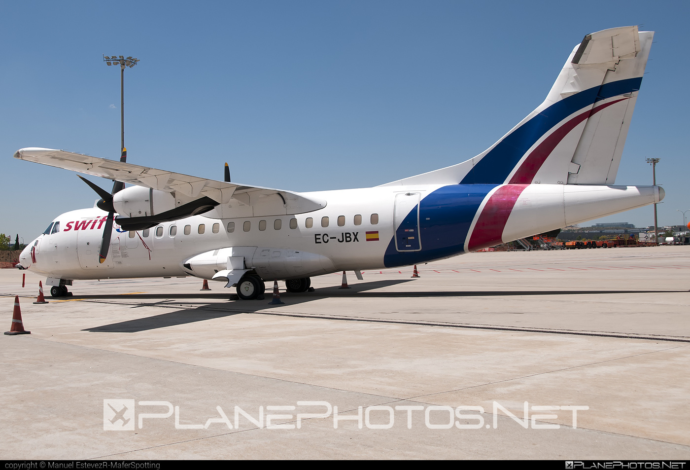 ATR 42-300 - EC-JBX operated by Swiftair #atr #atr42 #atr42300