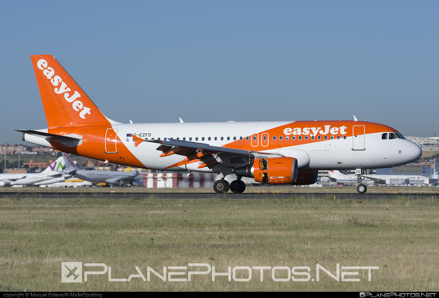 Airbus A319-111 - G-EZFD operated by easyJet #a319 #a320family #airbus #airbus319 #easyjet
