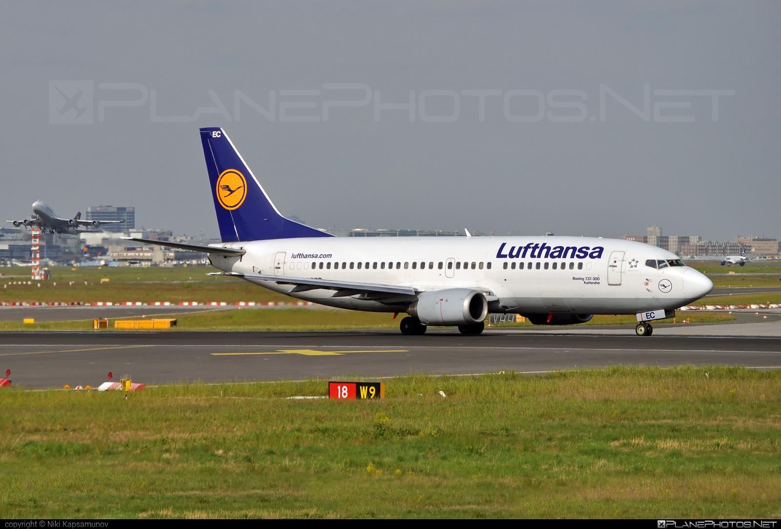 Boeing 737-300 - D-ABEC operated by Lufthansa #b737 #boeing #boeing737 #lufthansa