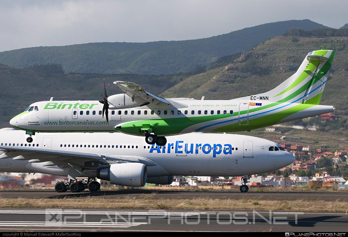 ATR 72-600 - EC-MNN operated by Binter Canarias #atr
