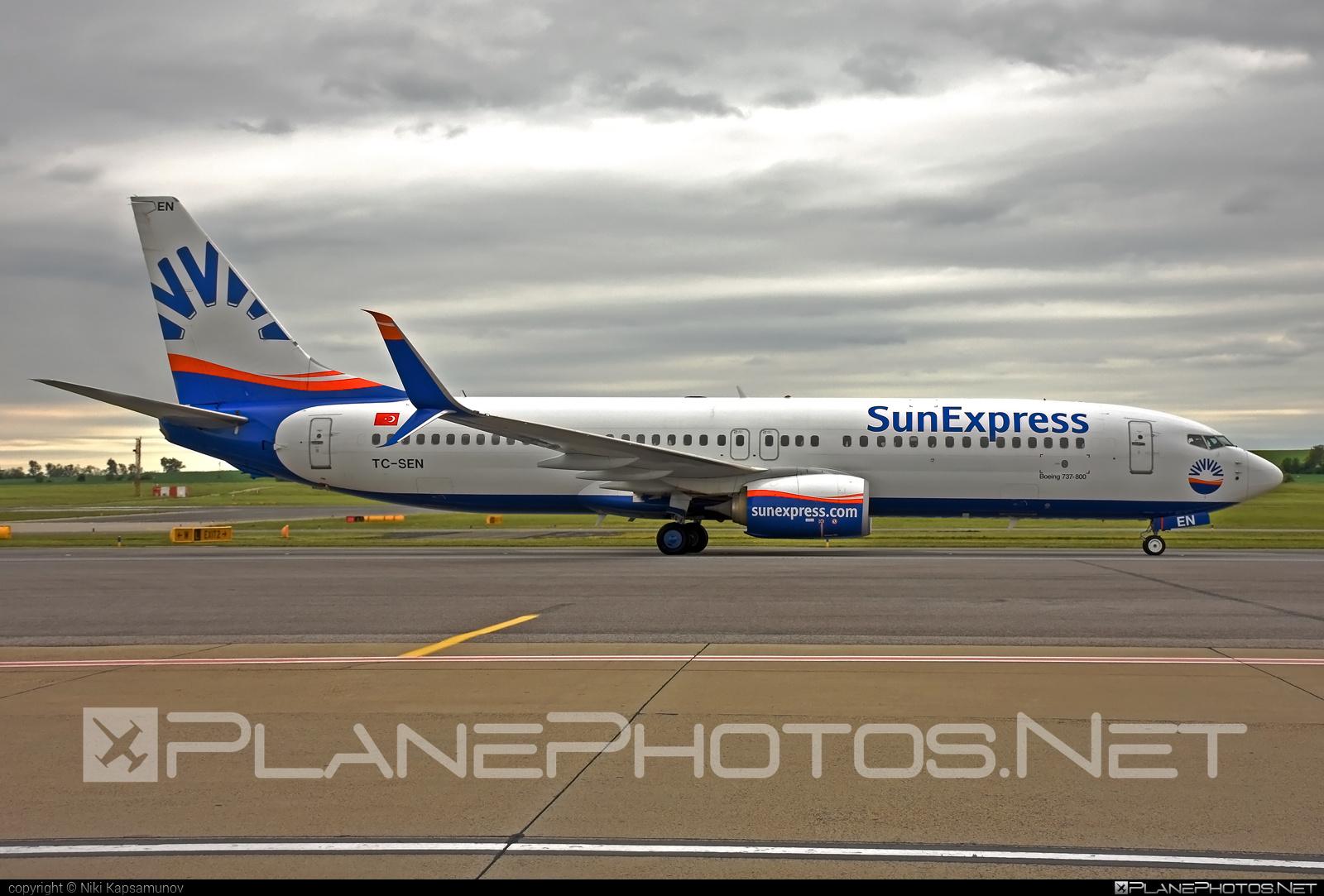 Boeing 737-800 - TC-SEN operated by SunExpress #b737 #b737nextgen #b737ng #boeing #boeing737 #sunexpress