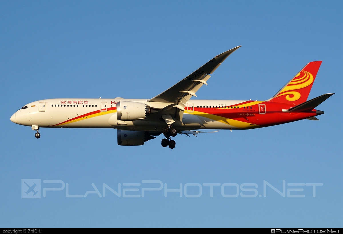 Boeing 787-9 Dreamliner - B-1546 operated by Hainan Airlines #b787 #boeing #boeing787 #dreamliner