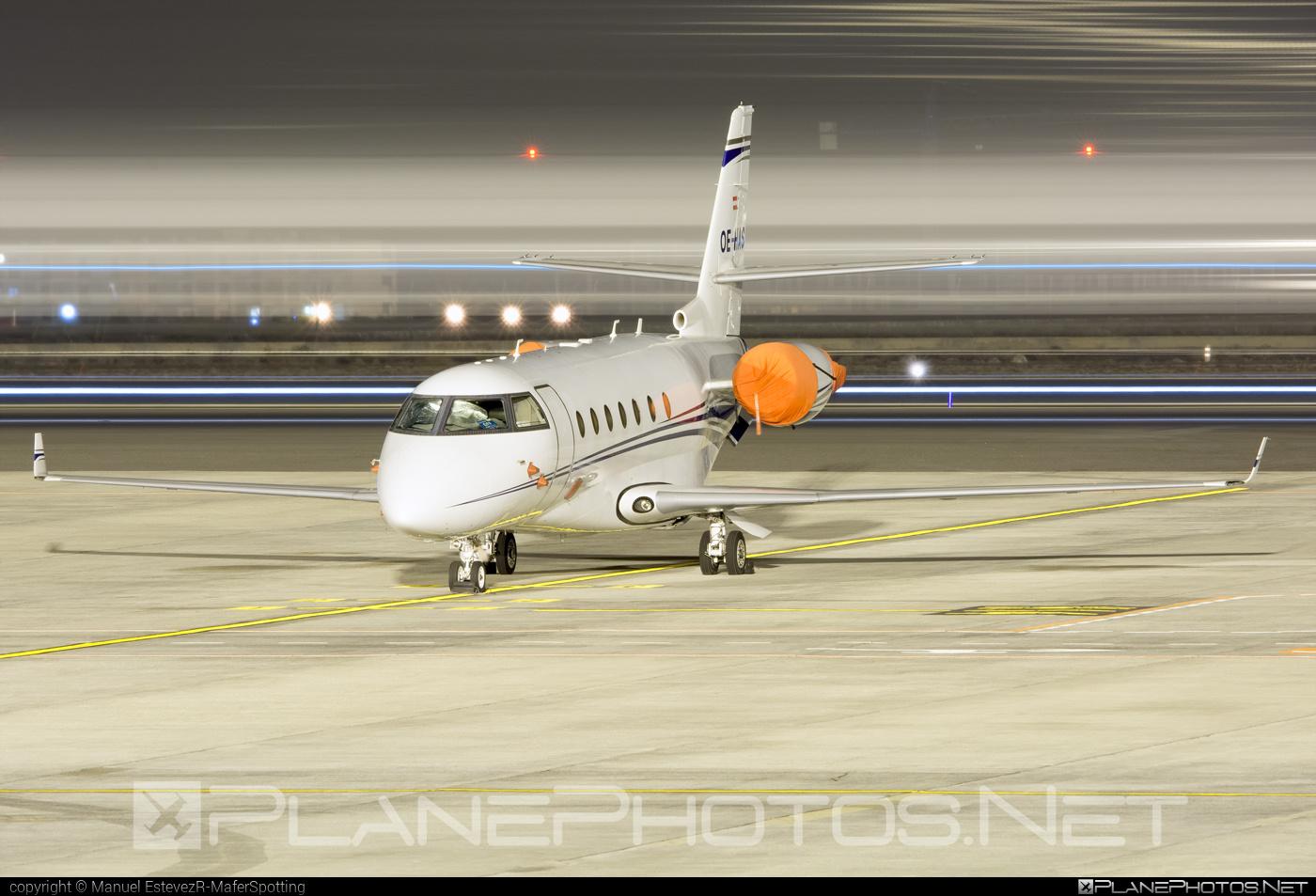 Gulfstream G200 - OE-HAS operated by Avcon Jet #avconjet #gulfstream