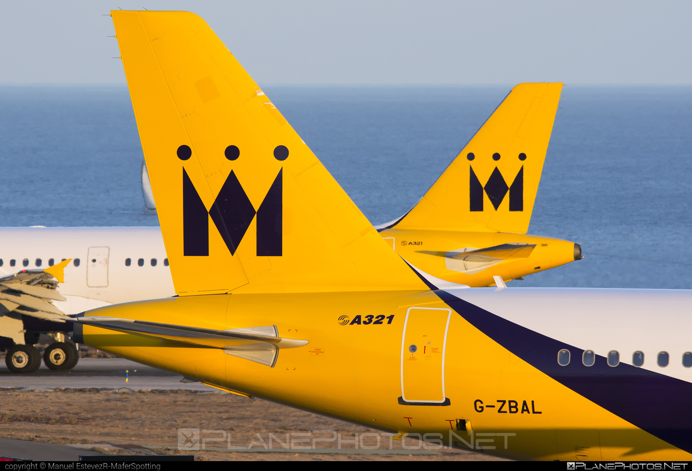 Airbus A321-232 - G-ZBAL operated by Monarch Airlines #a320family #a321 #airbus #airbus321