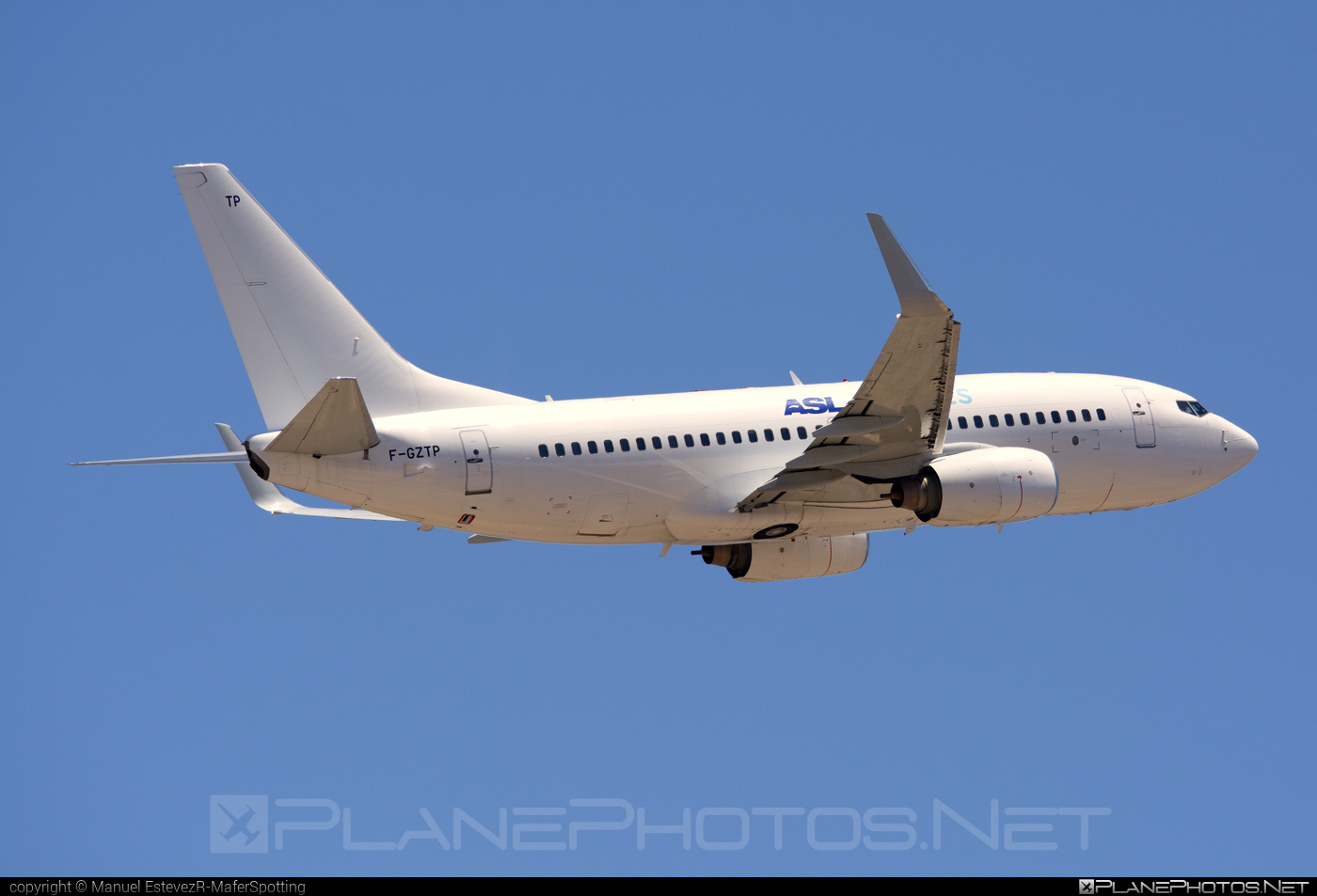 Boeing 737-700 - F-GZTP operated by ASL Airlines France #aslairlines #aslairlinesfrance #b737 #b737nextgen #b737ng #boeing #boeing737