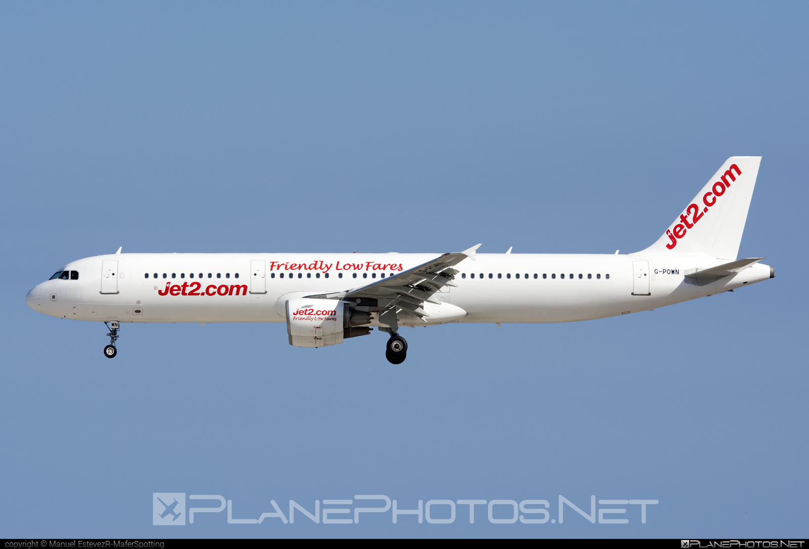 Airbus A321-211 - G-POWN operated by Jet2 #a320family #a321 #airbus #airbus321 #jet2