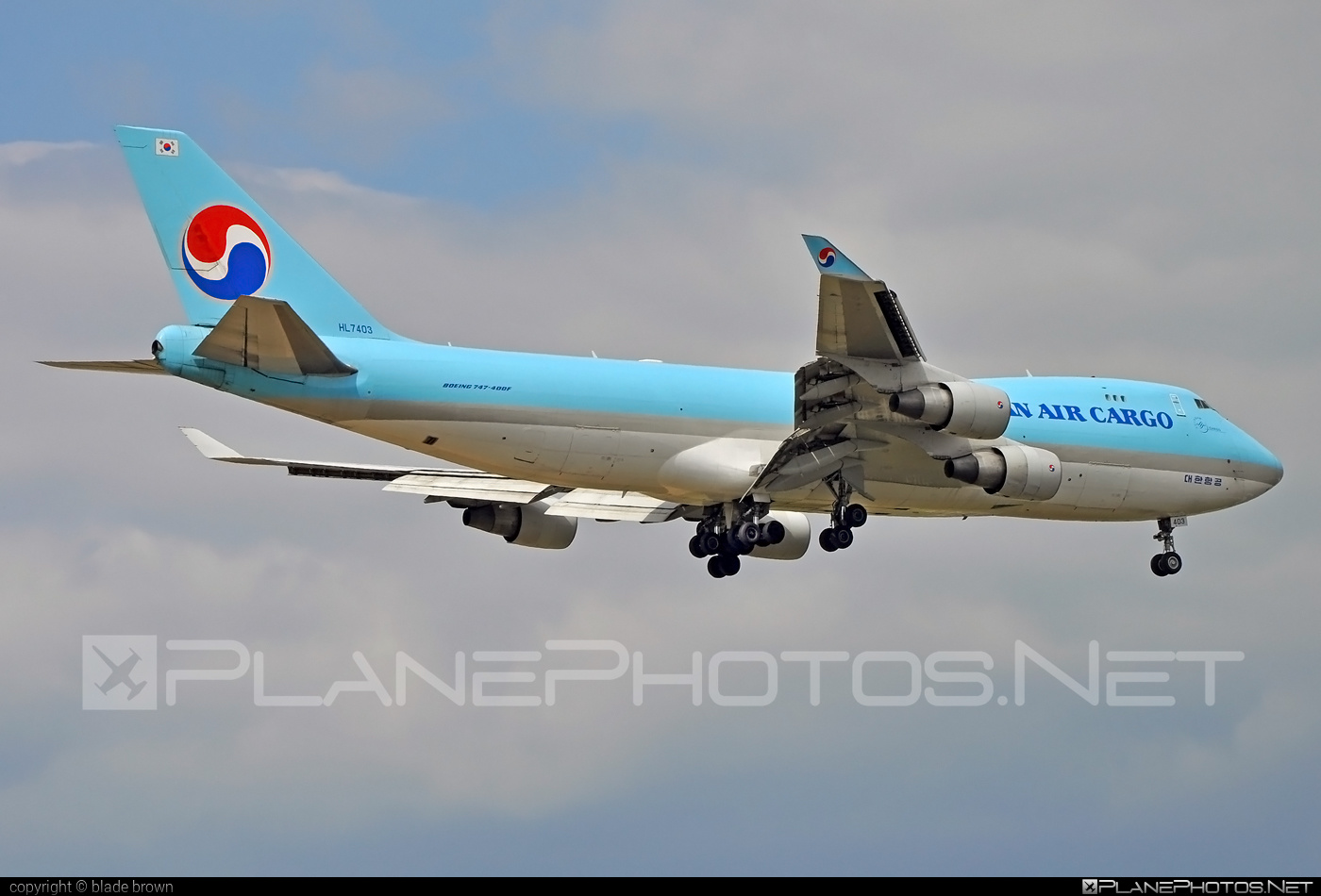 Boeing 747-400F - HL7403 operated by Korean Air Cargo #b747 #boeing #boeing747 #jumbo #koreanair #koreanaircargo