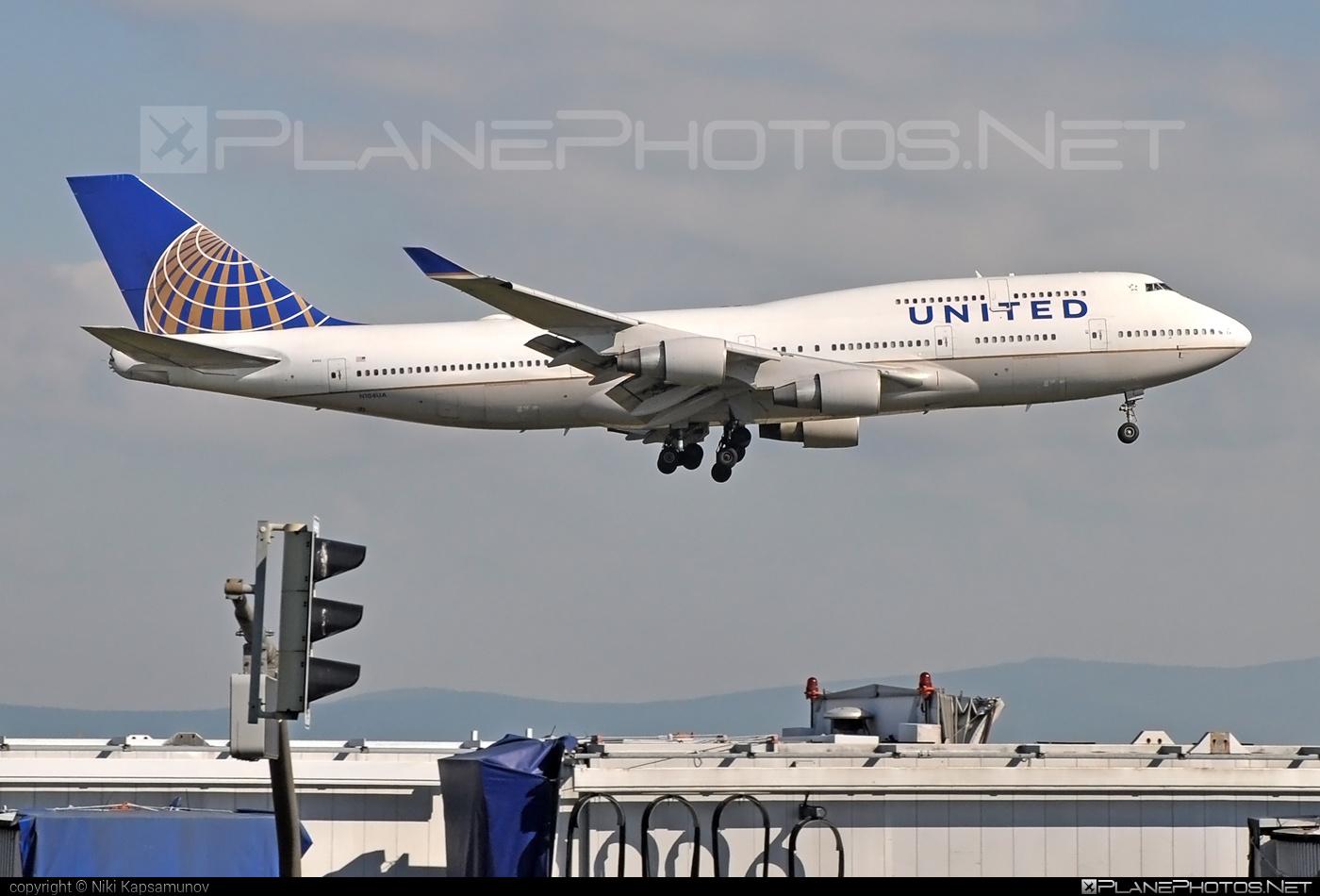 Boeing 747-400 - N104UA operated by United Airlines #b747 #boeing #boeing747 #jumbo #unitedairlines