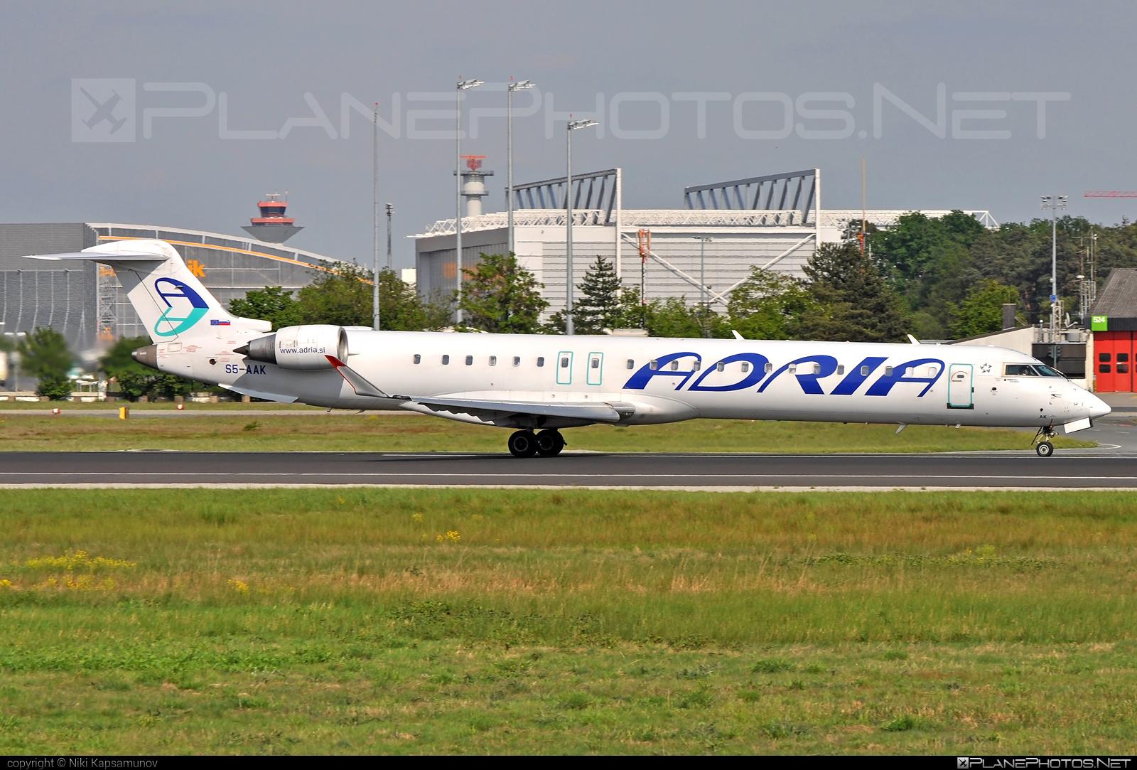Bombardier CRJ900 - S5-AAK operated by Adria Airways #bombardier #crj900