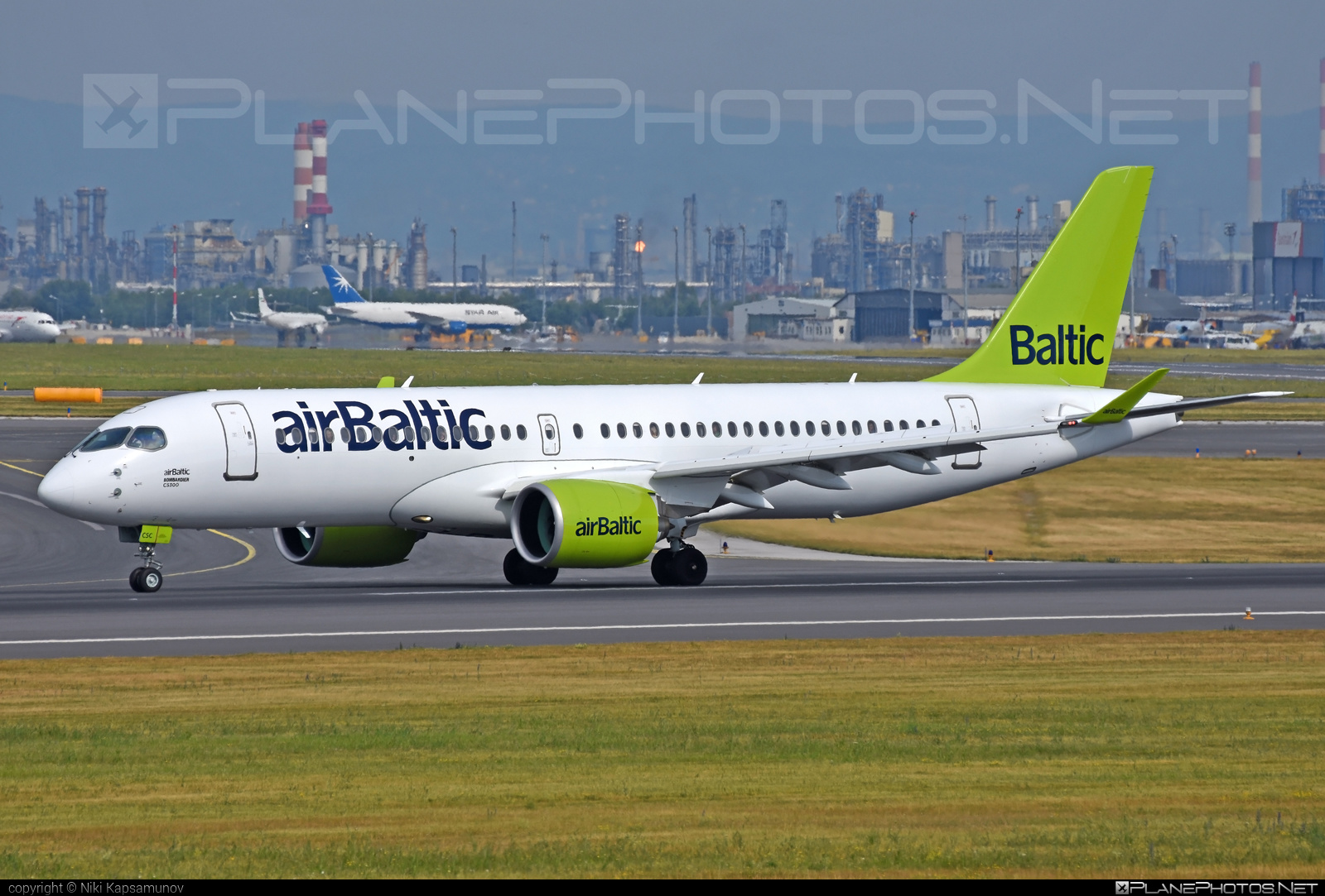 Bombardier BD-500-1A11 C Series CS300 - YL-CSC operated by Air Baltic #airbaltic #bombardier #cs300 #cseries #cseries300