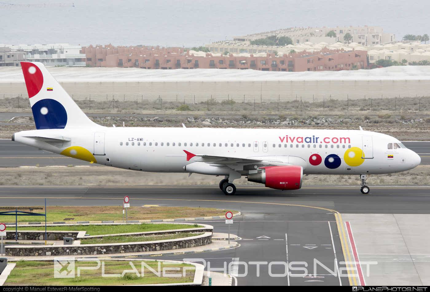 Airbus A320-214 - LZ-AWI operated by Viva Air Colombia #a320 #a320family #airbus #airbus320 #vivaaircolombia