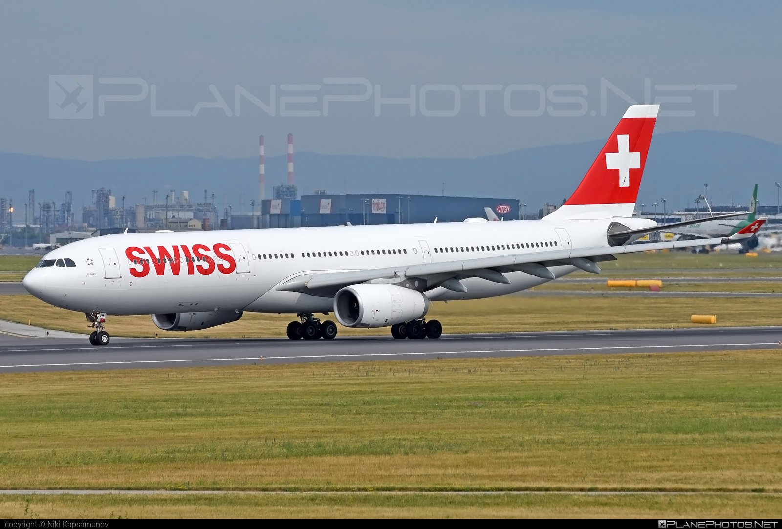 Airbus A330-343 - HB-JHL operated by Swiss International Air Lines #a330 #a330family #airbus #airbus330 #swiss #swissairlines