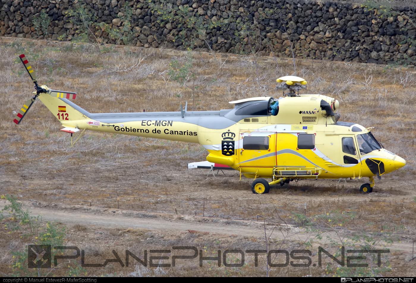 PZL-Świdnik W-3A Sokol - EC-MGN operated by Hispánica de Aviación (HASA) #pzl #pzlswidnik