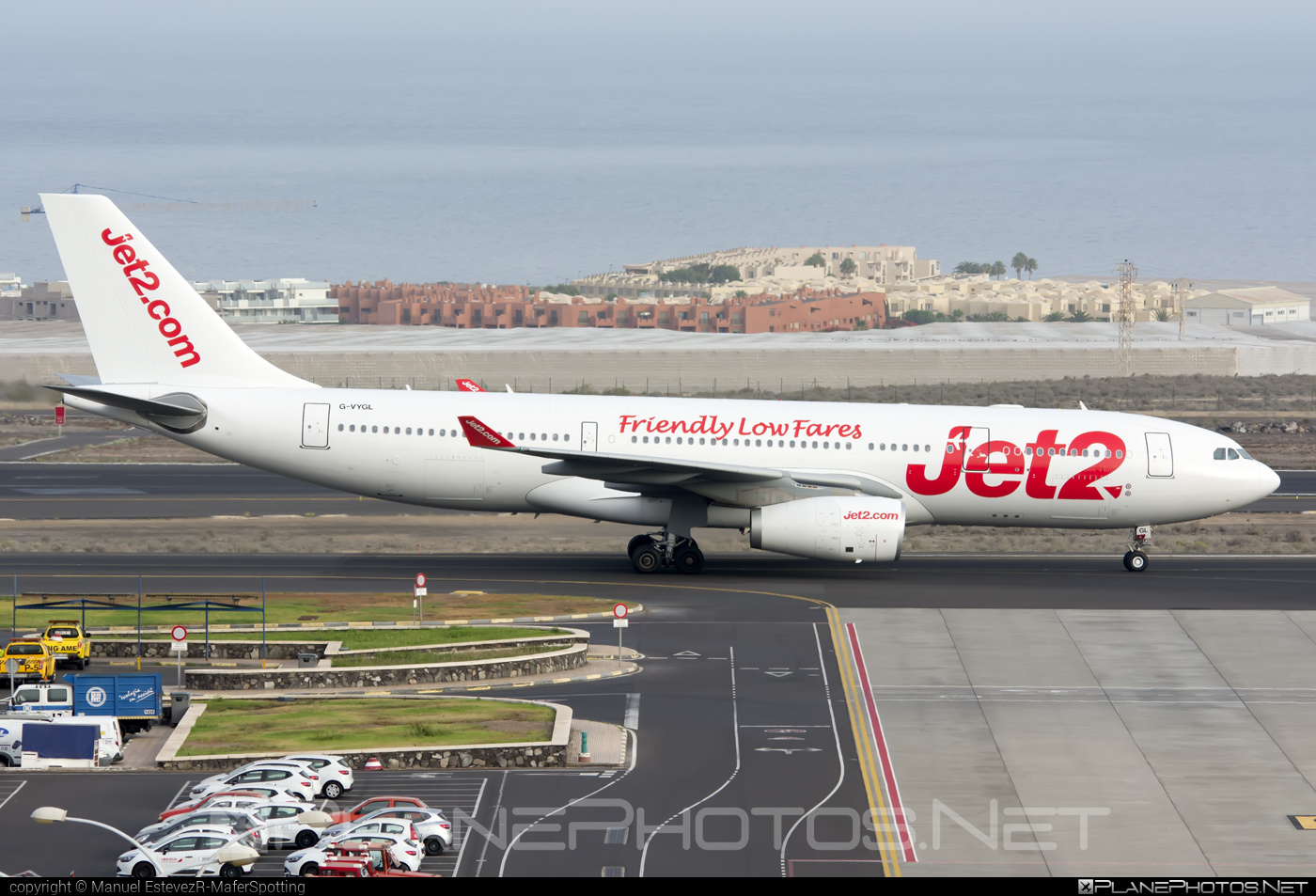 Airbus A330-243 - G-VYGL operated by Jet2 #a330 #a330family #airbus #airbus330 #jet2