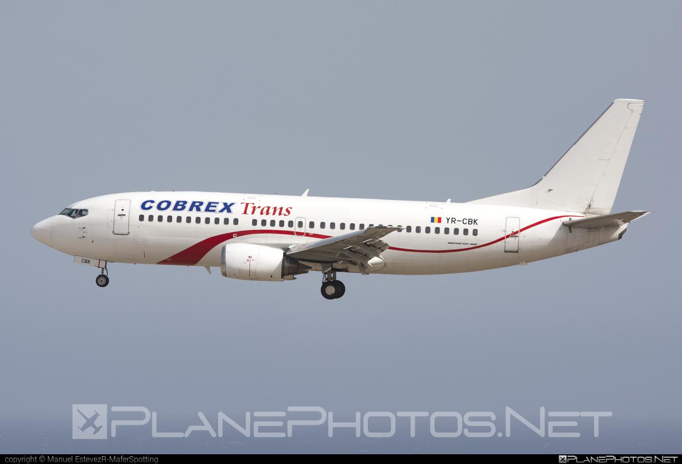 Boeing 737-300 - YR-CBK operated by Cobrex Trans #b737 #boeing #boeing737
