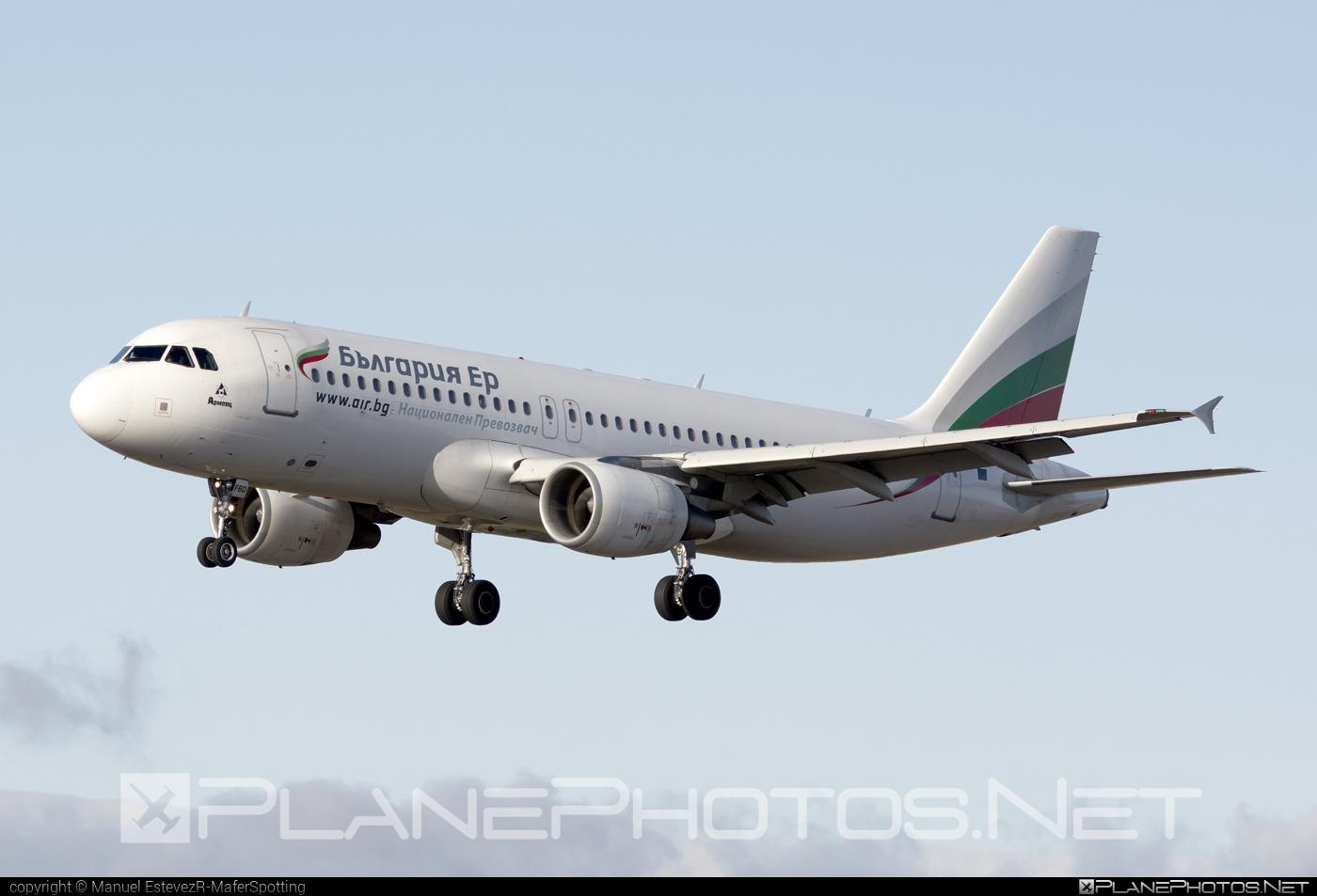 Airbus A320-214 - LZ-FBD operated by Bulgaria Air #a320 #a320family #airbus #airbus320 #bulgariaair