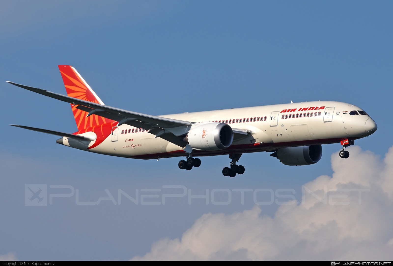 Boeing 787-8 Dreamliner - VT-ANW operated by Air India #b787 #boeing #boeing787 #dreamliner