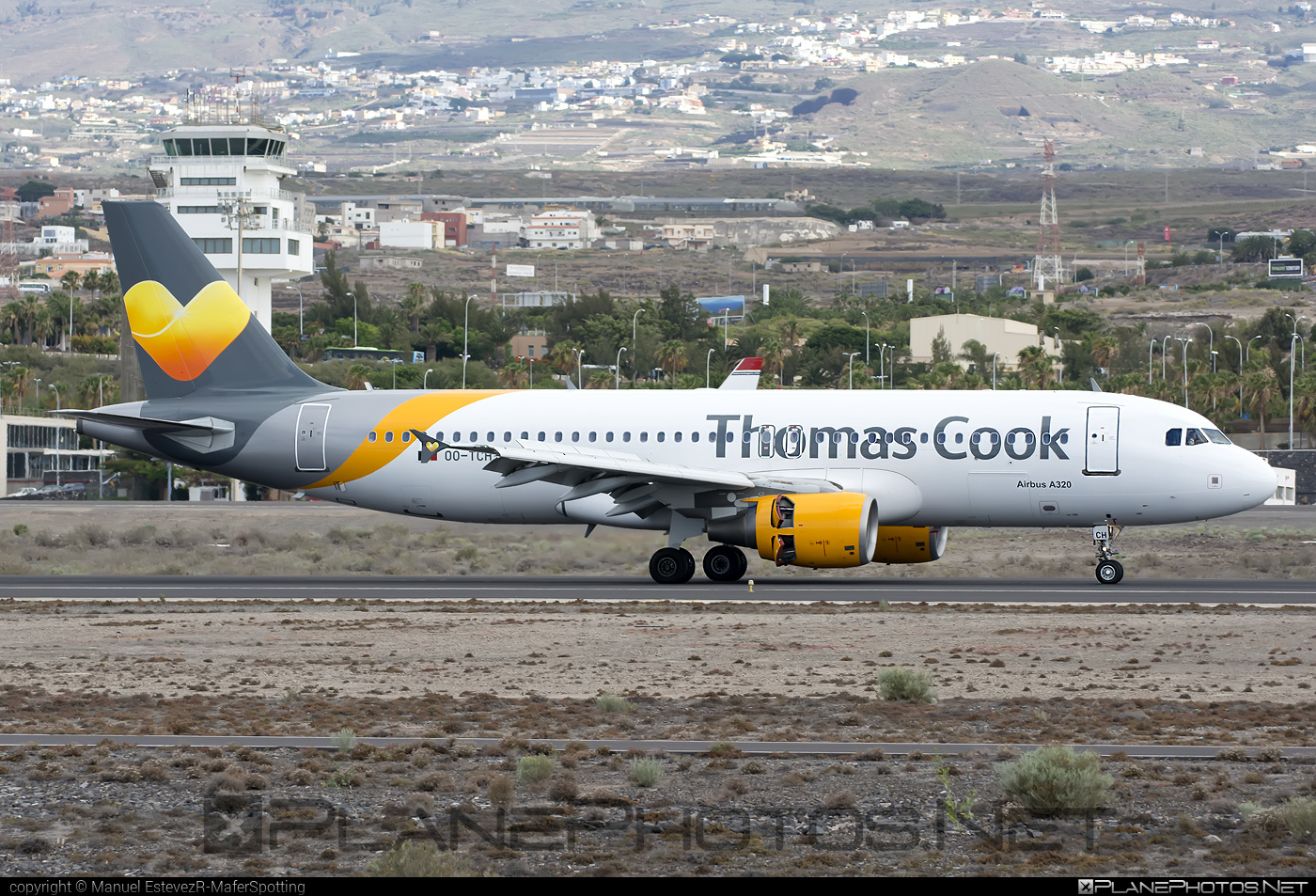 Airbus A320-214 - OO-TCH operated by Thomas Cook Airlines #a320 #a320family #airbus #airbus320