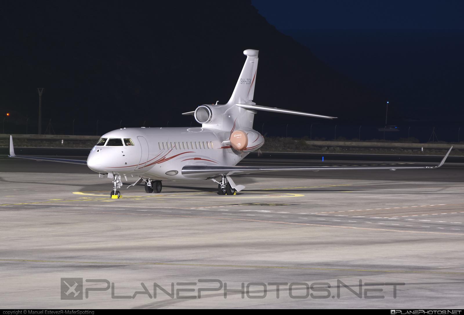 Dassault Falcon 7X - 9H-ZSN operated by Elit´Avia Malta Ltd. #dassault #dassaultfalcon #dassaultfalcon7x #falcon7x