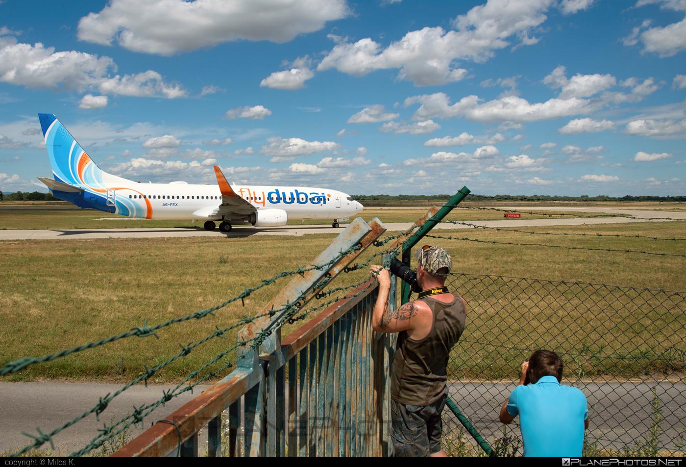 Boeing 737-800 - A6-FEX operated by flydubai #b737 #b737nextgen #b737ng #boeing #boeing737