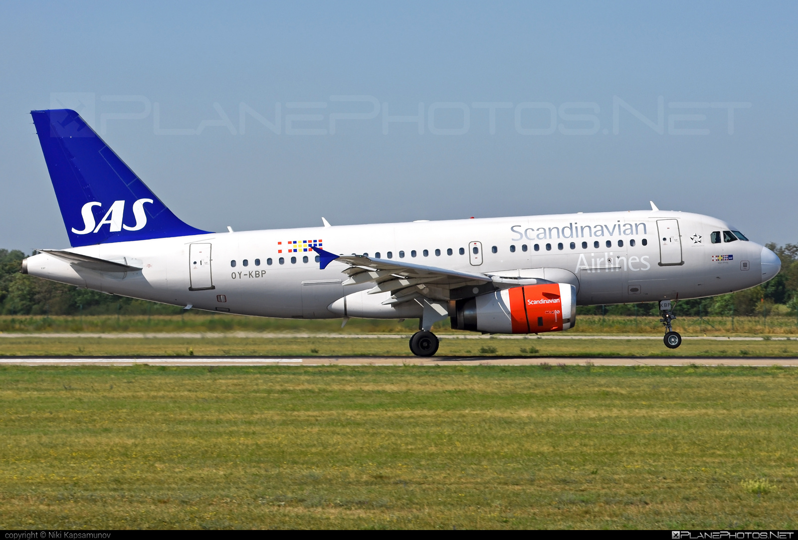 Airbus A319-132 - OY-KBP operated by Scandinavian Airlines (SAS) #a319 #a320family #airbus #airbus319 #sas #sasairlines #scandinavianairlines