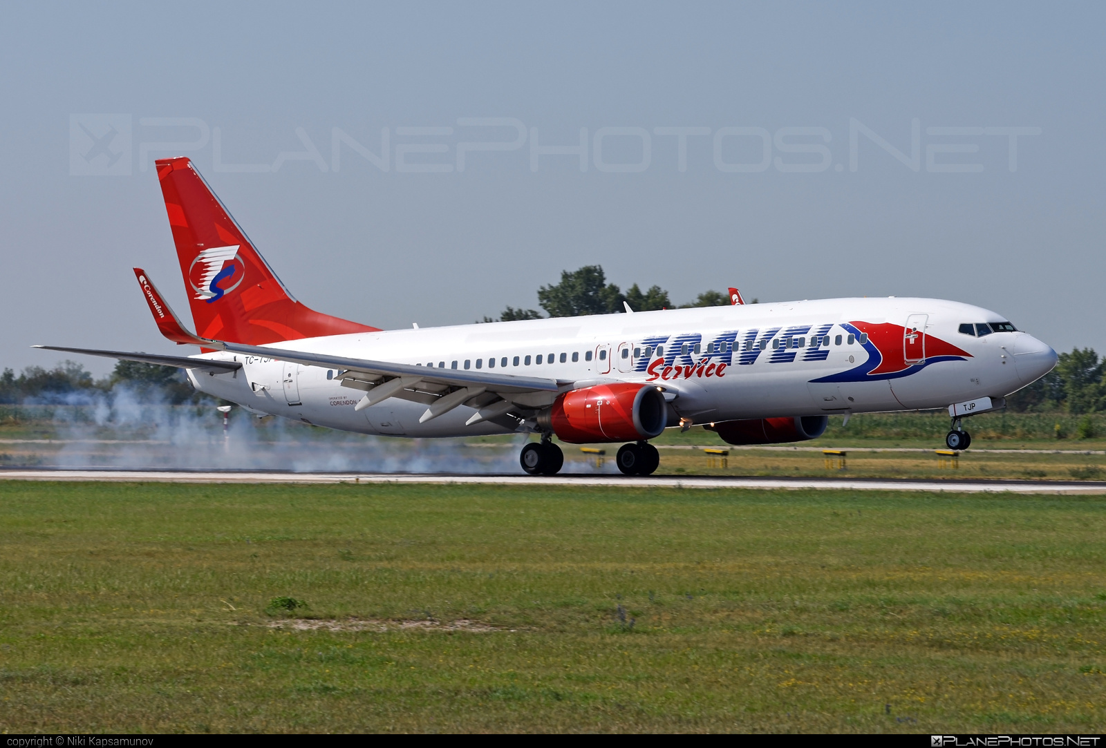 Boeing 737-800 - TC-TJP operated by Travel Service #b737 #b737nextgen #b737ng #boeing #boeing737 #travelservice