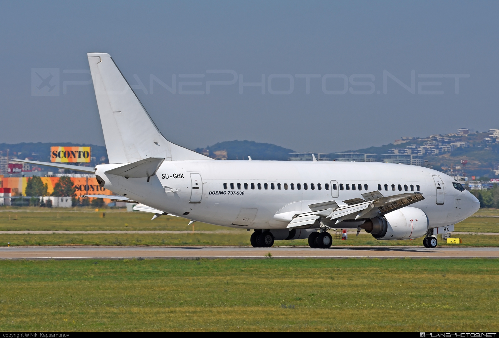 Boeing 737-500 - SU-GBK operated by AMC Airlines #amcairlines #b737 #boeing #boeing737