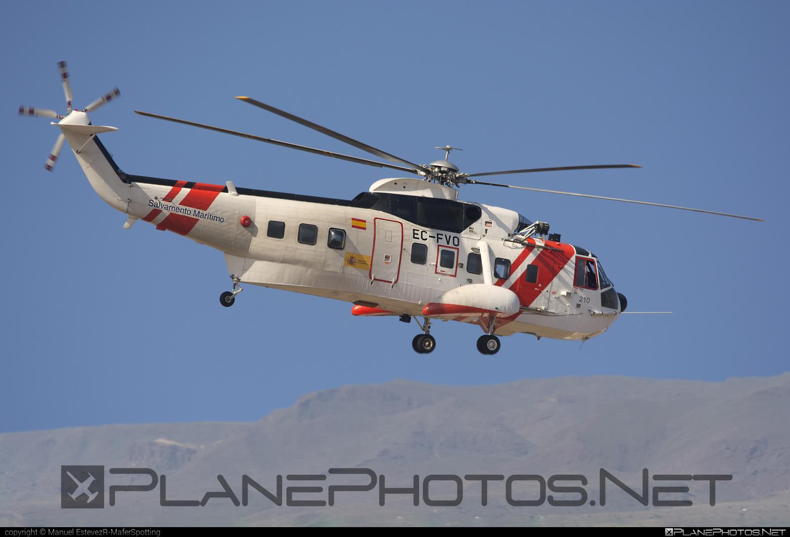 Sikorsky S-61N Mk.II - EC-FVO operated by Sociedad de Salvamento y Seguridad Marítima (Spanish Maritime Safety Agency) #sikorsky