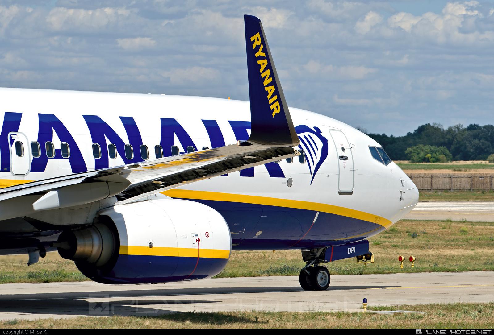 Boeing 737-800 - EI-DPI operated by Ryanair #b737 #b737nextgen #b737ng #boeing #boeing737 #ryanair