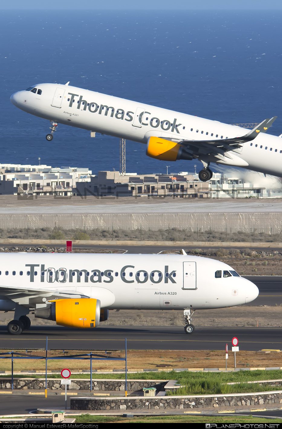 Airbus A320-212 - OO-TCX operated by Thomas Cook Airlines #a320 #a320family #airbus #airbus320