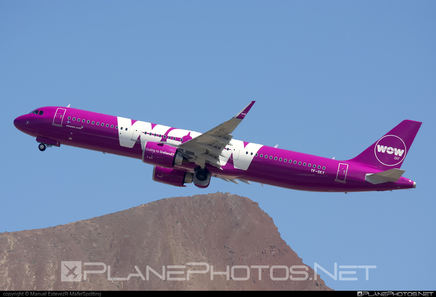Airbus A321-253N - TF-SKY operated by WOW air #a320family #a321 #a321neo #airbus #airbus321