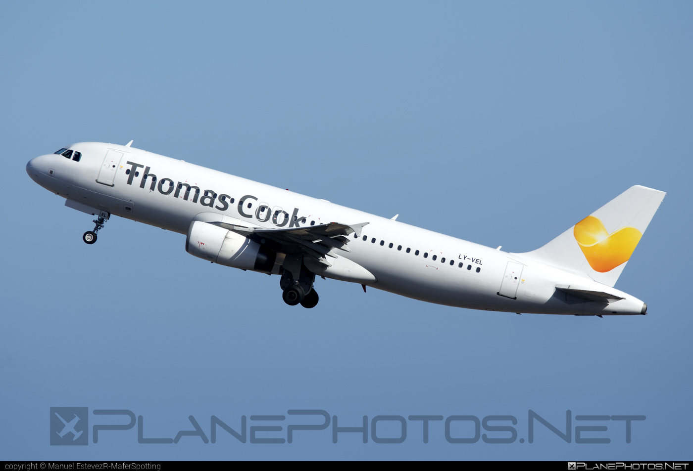 Airbus A320-232 - LY-VEL operated by Thomas Cook Airlines #a320 #a320family #airbus #airbus320