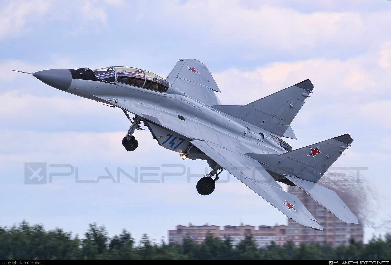 Mikoyan-Gurevich MiG-29M2 - 747 operated by RSK MiG #mig #mig29 #mig29m2 #mikoyangurevich