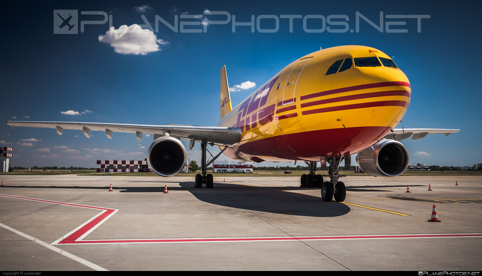 Airbus A300B4-622RF - D-AEAH operated by DHL (European Air Transport) #a300 #airbus