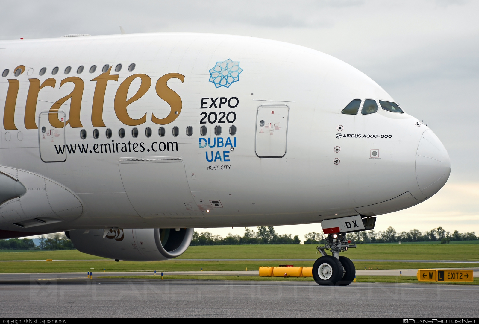 Airbus A380-861 - A6-EDX operated by Emirates #a380 #a380family #airbus #airbus380 #emirates