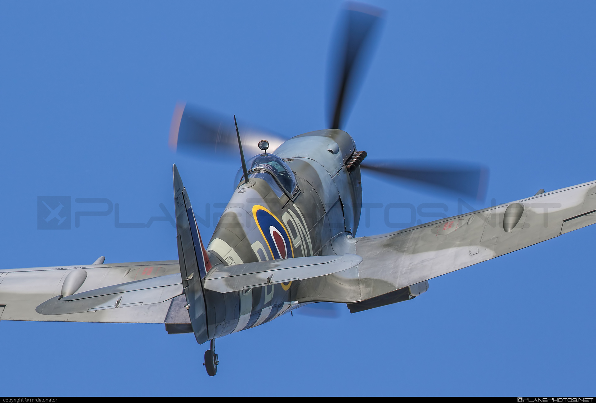 Supermarine Spitfire Mk.XVI - G-MXVI operated by Private operator #spitfire #spitfiremkxvi #supermarine