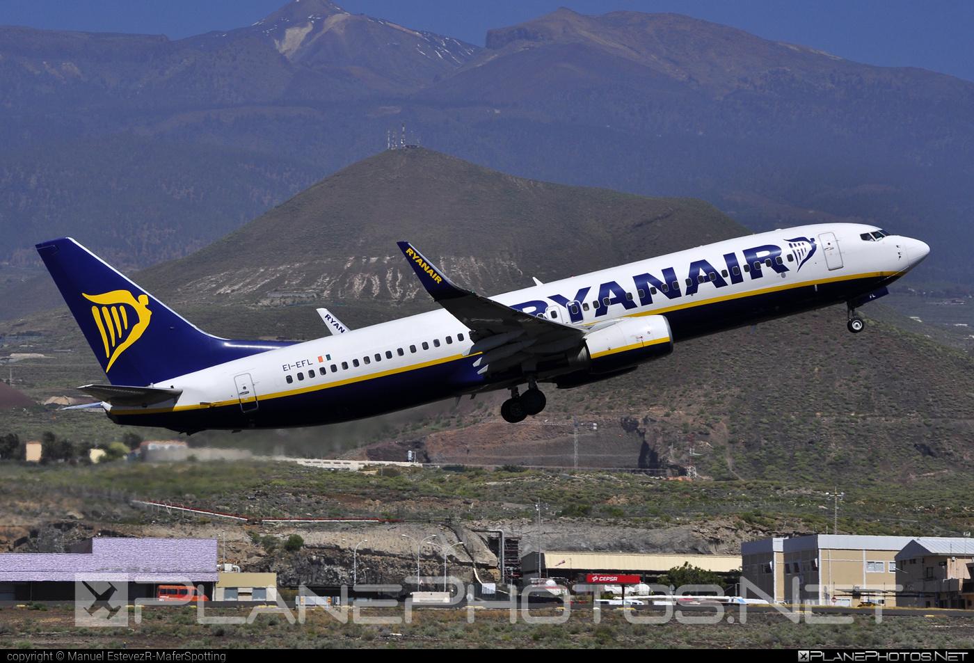 Boeing 737-800 - EI-EFL operated by Ryanair #b737 #b737nextgen #b737ng #boeing #boeing737 #ryanair