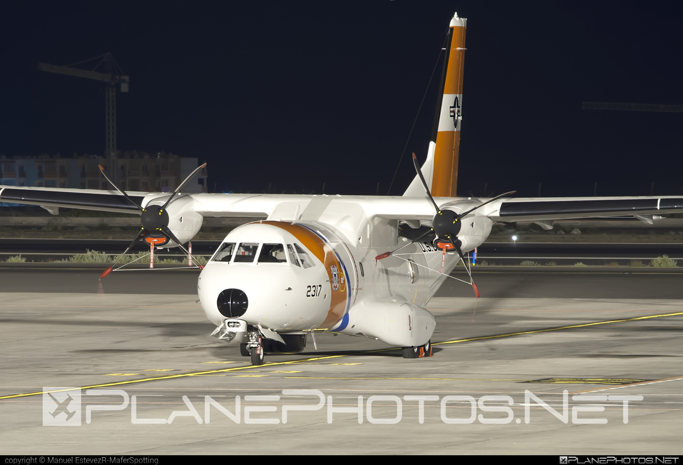 Airbus Military HC-144 Ocean Sentry - 2317 operated by US Coast Guard (USCG) #airbusmilitary