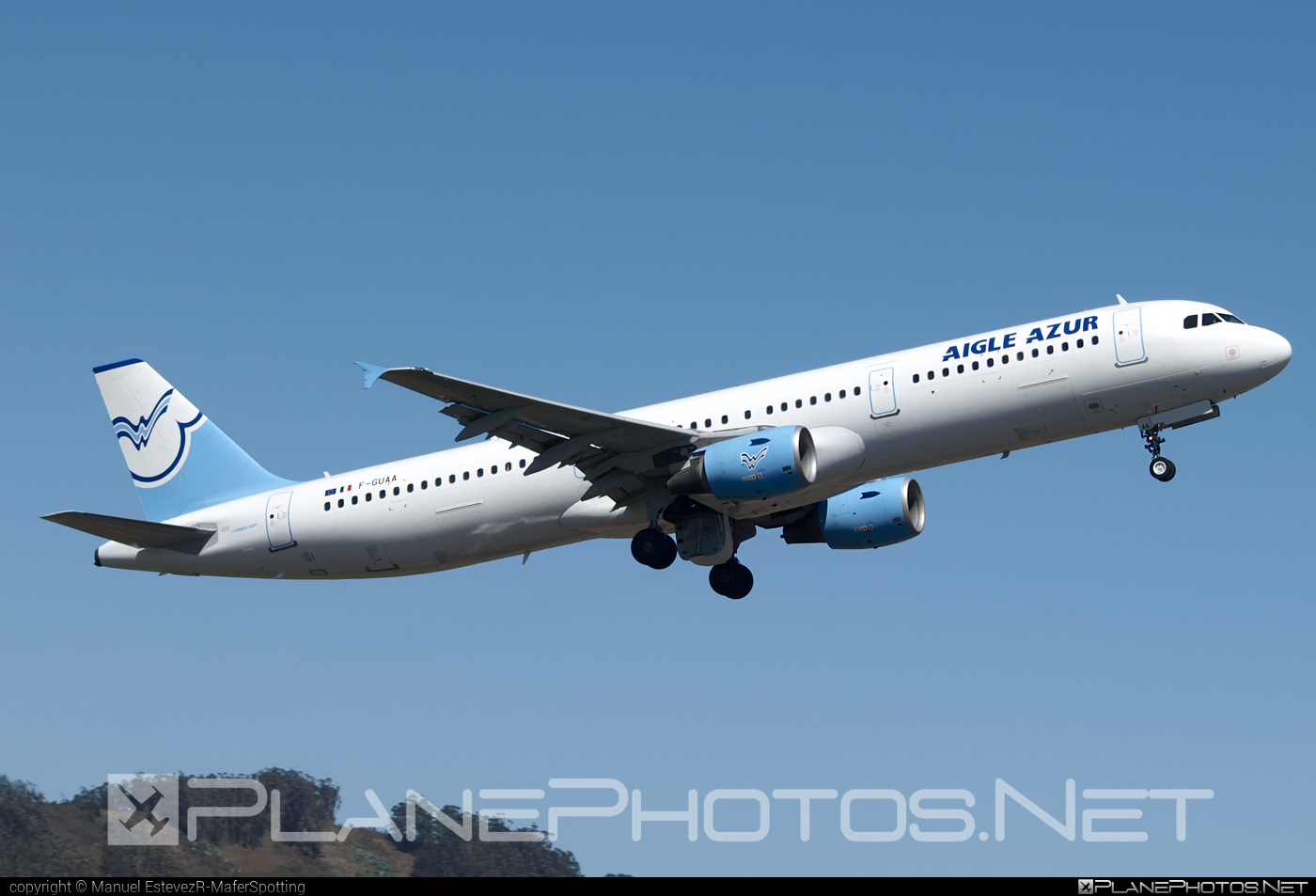 Airbus A321-211 - F-GUAA operated by Aigle Azur #a320family #a321 #airbus #airbus321