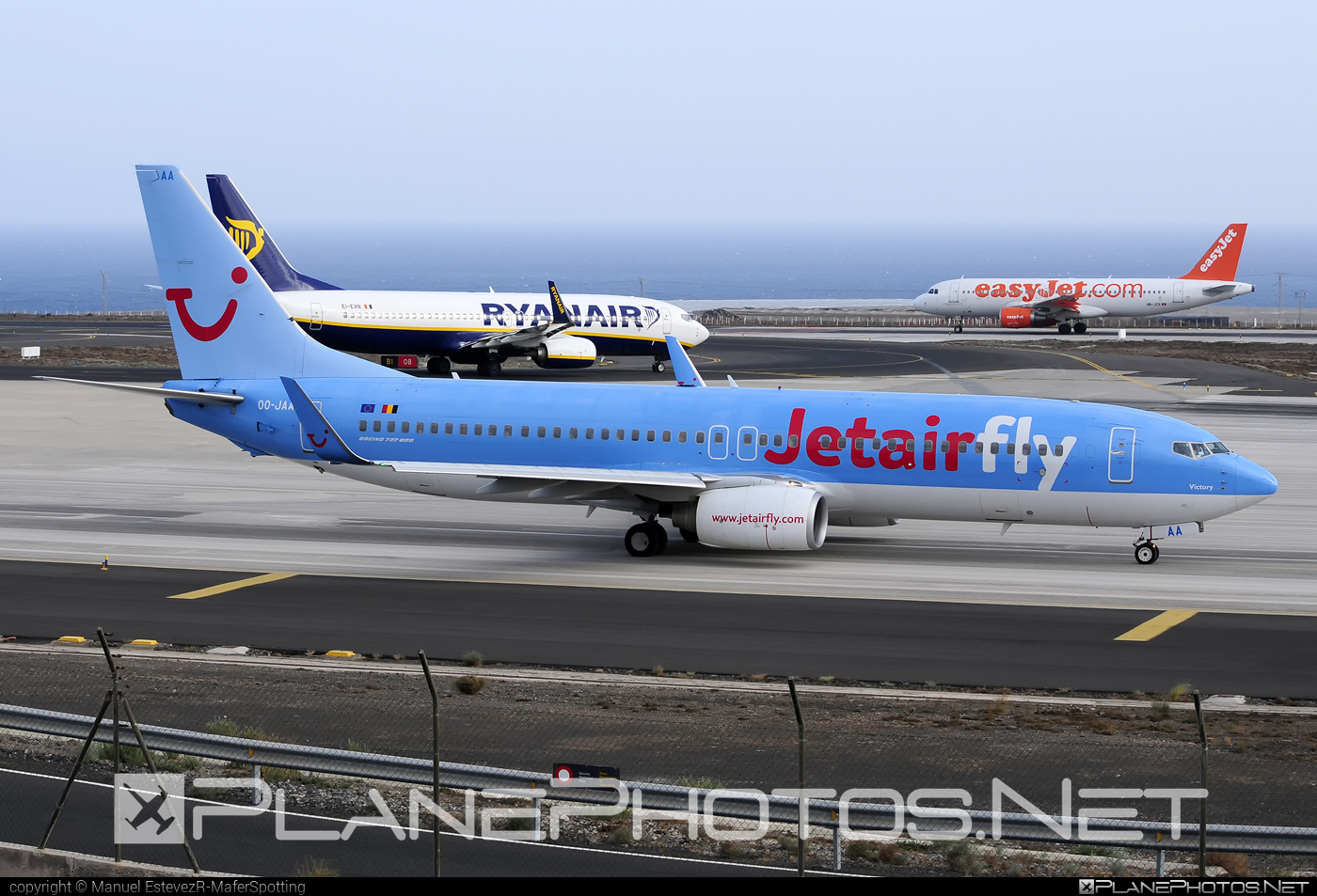 Boeing 737-800 - OO-JAA operated by Jetairfly #b737 #b737nextgen #b737ng #boeing #boeing737 #jetairfly