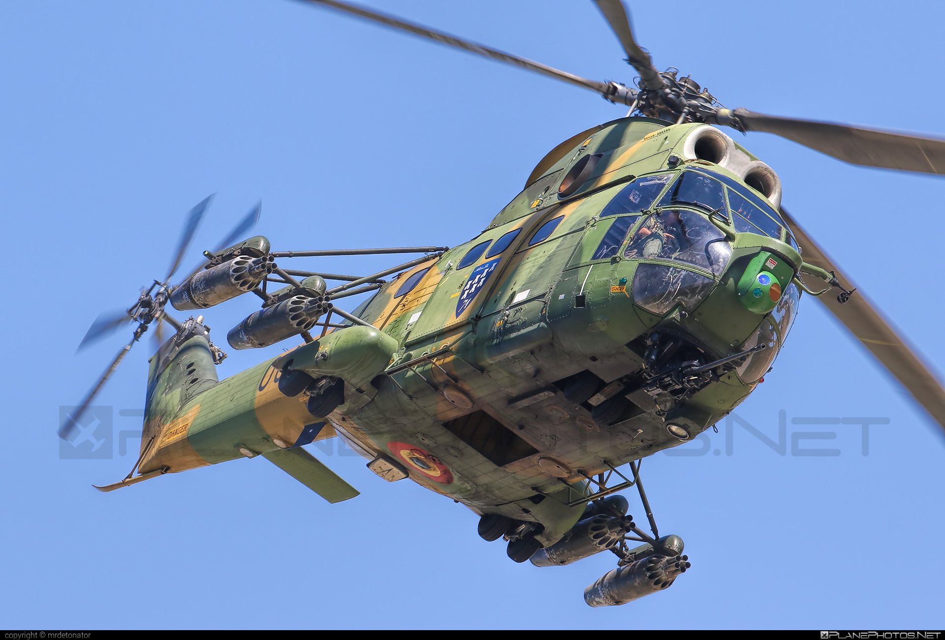 IAR IAR-330L Puma SOCAT - 63 operated by Forţele Aeriene Române (Romanian Air Force) #forteleaerieneromane #romanianairforce