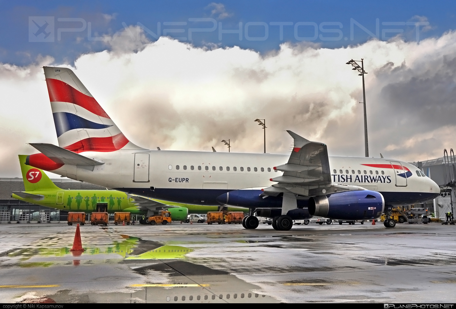 Airbus A319-131 - G-EUPR operated by British Airways #a319 #a320family #airbus #airbus319 #britishairways