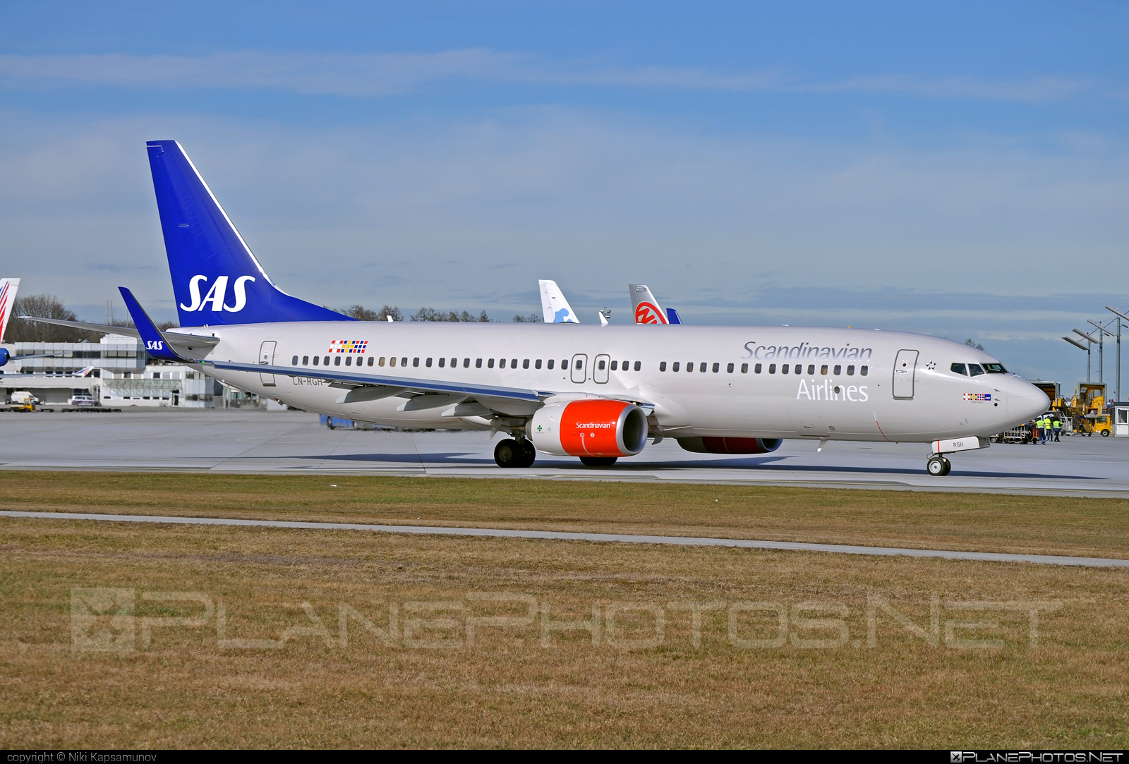 Boeing 737-800 - LN-RGH operated by Scandinavian Airlines (SAS) #b737 #b737nextgen #b737ng #boeing #boeing737 #sas #sasairlines #scandinavianairlines