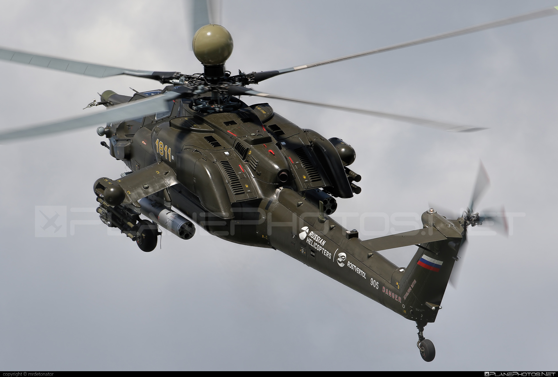 Russian Helicopters Mil Mi-28NE Night Hunter - 1811 #mil #milhelicopters