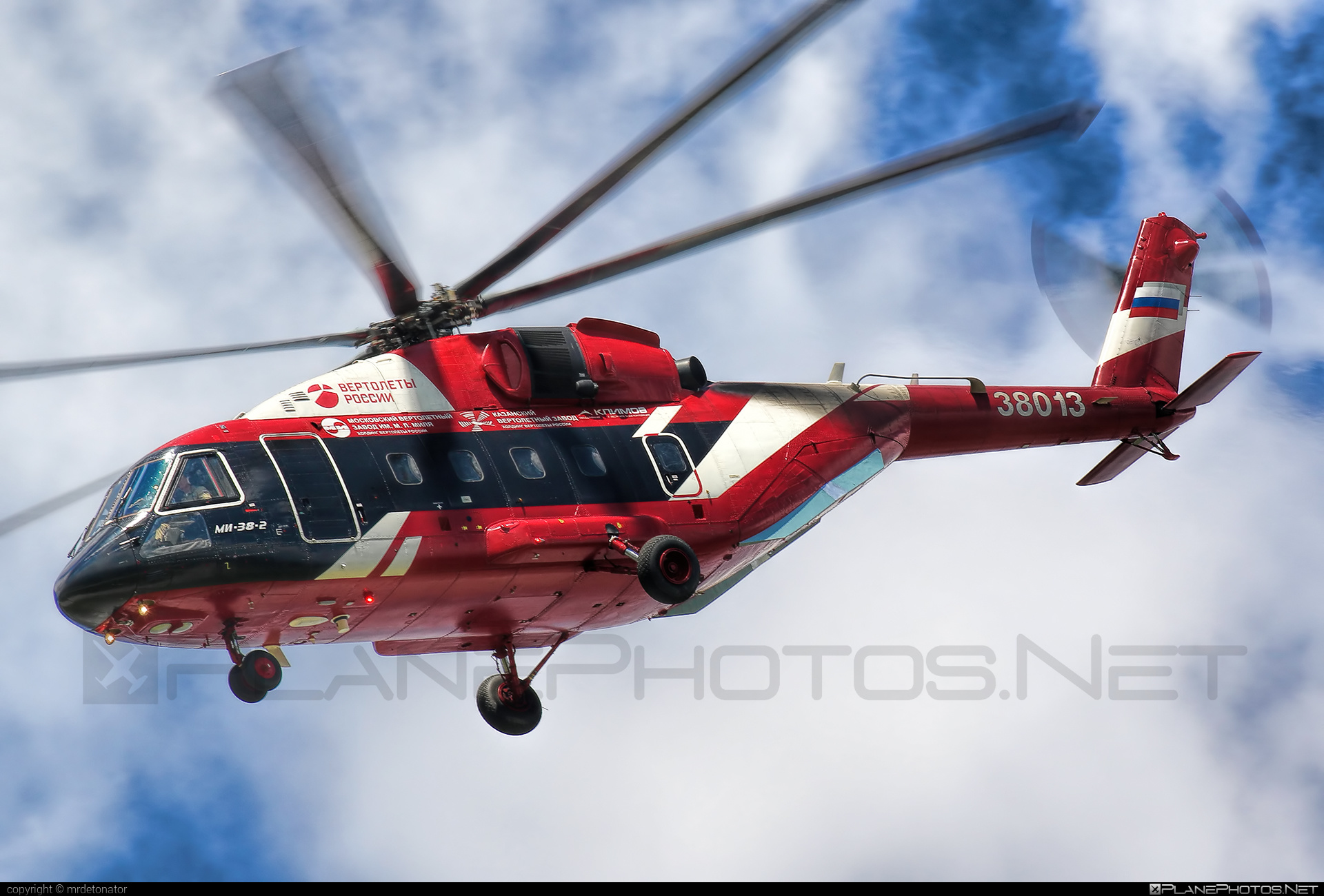 Mil Mi-38-2 - 38013 operated by Russian Helicopters #maks2017 #mi38 #mi382 #mil #milhelicopters #milmi38 #milmi382
